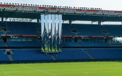 Brøndby Stadium tests mirror-invention