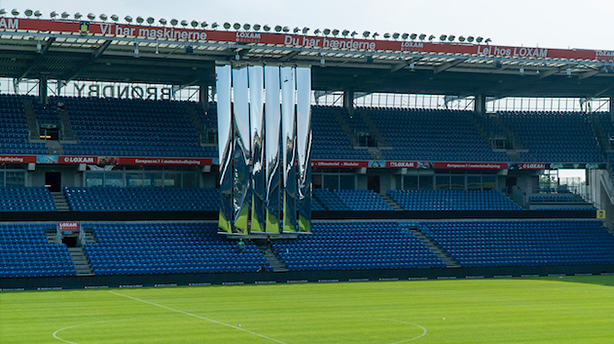 Brøndby Stadium tests mirror-invention